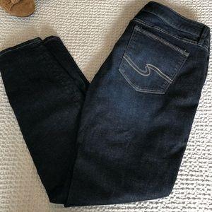 Silver Jeans   Elyse   skinny dark